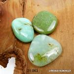 Chrysoprase plate 3 - 3,5 cm. Taille M