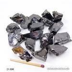 Schungite noble cristallisée brute 4 à 5,5 grammes. Taille M