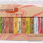 Mini Bâtons Encens Auroshikha - palette de 14 fragrances