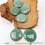 Aventurine verte plate 4 - 4,5 cm. Taille L-XL. OFFRE SPECIALE