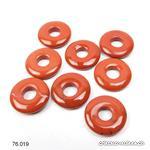 Jaspe rouge, Donut, 15 mm