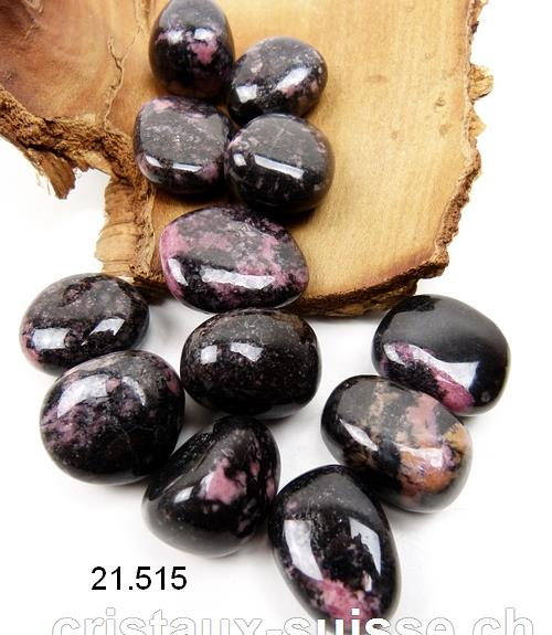 Rhodonite noire, Taille M. OFFRE SPECIALE