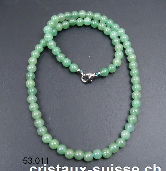 Collier Aventurine 6 mm / 45 cm